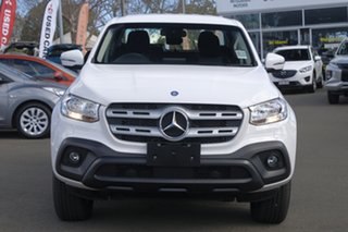 2018 Mercedes-Benz X-Class 470 X250d 4MATIC Progressive White 7 Speed Sports Automatic Cab Chassis