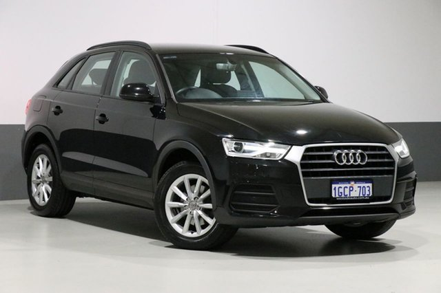 Used Audi Q3 8U MY15 1.4 TFSI (110kW), 2016 Audi Q3 8U MY15 1.4 TFSI (110kW) Black 6 Speed Automatic Wagon