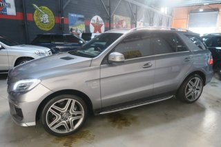 2012 Mercedes-Benz M-Class W166 ML63 AMG SPEEDSHIFT DCT Grey 7 Speed Sports Automatic Dual Clutch