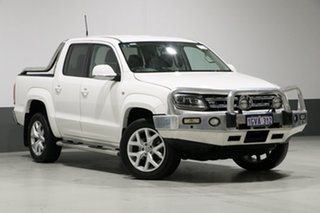 2016 Volkswagen Amarok 2H MY17 V6 TDI 550 Ultimate White 8 Speed Automatic Dual Cab Utility.