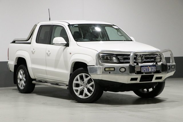 Used Volkswagen Amarok 2H MY17 V6 TDI 550 Ultimate, 2016 Volkswagen Amarok 2H MY17 V6 TDI 550 Ultimate White 8 Speed Automatic Dual Cab Utility