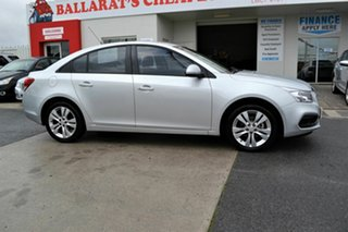 2015 Holden Cruze JH MY15 Equipe Silver 6 Speed Automatic Sedan