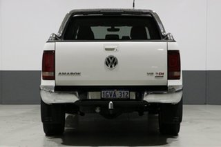 2016 Volkswagen Amarok 2H MY17 V6 TDI 550 Ultimate White 8 Speed Automatic Dual Cab Utility