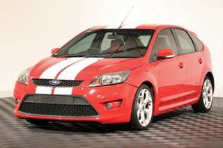 2009 Ford Focus LV XR5 Turbo Red 6 Speed Manual Hatchback.