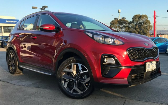Demo Kia Sportage QL MY18 AO Edition 2WD, 2018 Kia Sportage QL MY18 AO Edition 2WD Fiery Red 6 Speed Sports Automatic Wagon