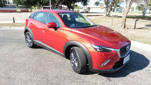 Used Mazda CX-3 DK2W7A sTouring SKYACTIV-Drive Ayr, 2018 Mazda CX-3 DK2W7A sTouring SKYACTIV-Drive Soul Red 6 Speed Sports Automatic Wagon