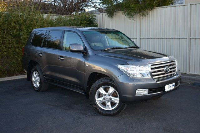 Used Toyota Landcruiser UZJ200R Sahara, 2009 Toyota Landcruiser UZJ200R Sahara Graphite 5 Speed Sports Automatic Wagon