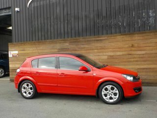 2007 Holden Astra AH MY07 CDTi Red 6 Speed Manual Hatchback.
