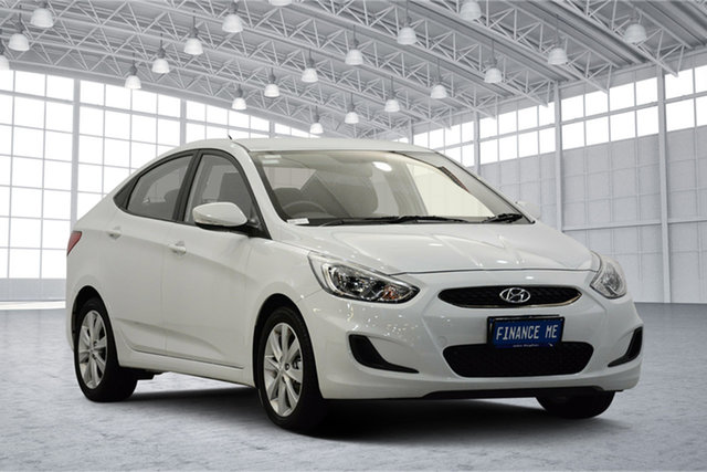 Used Hyundai Accent RB6 MY18 Sport, 2019 Hyundai Accent RB6 MY18 Sport Chalk White 6 Speed Sports Automatic Sedan