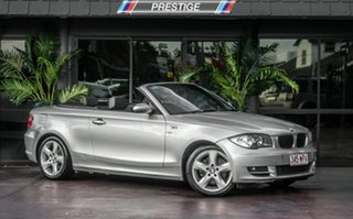2009 BMW 120i E88 MY09 Silver 6 Speed Automatic Convertible.