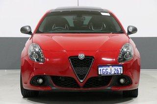 2017 Alfa Romeo Giulietta Series 2 Veloce TCT Red 6 Speed Auto Dual Clutch Hatchback.