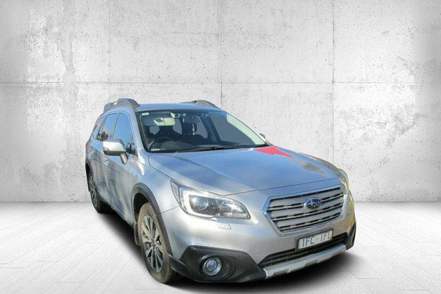 Used Subaru Outback B6A MY15 3.6R CVT AWD, 2015 Subaru Outback 3.6R 3.6R CVT AWD Silver 6 Speed Automatic Wagon