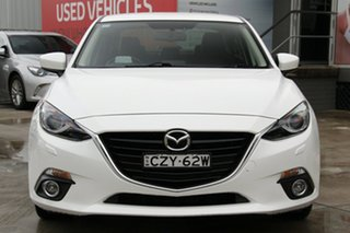 2015 Mazda 3 BM SP25 GT White 6 Speed Automatic Sedan