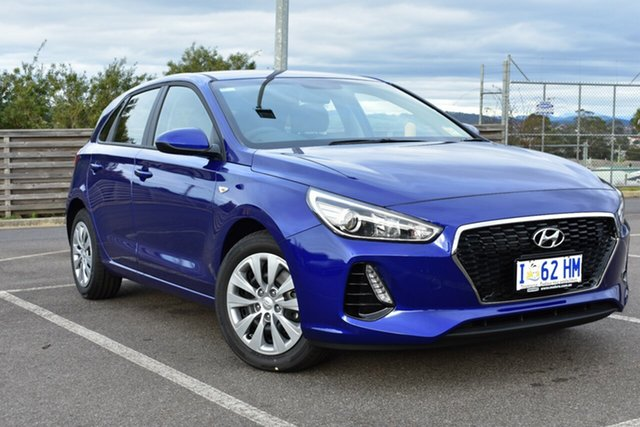 Demo Hyundai i30 PD MY19 Go, 2019 Hyundai i30 PD MY19 Go Intense Blue 6 Speed Sports Automatic Hatchback