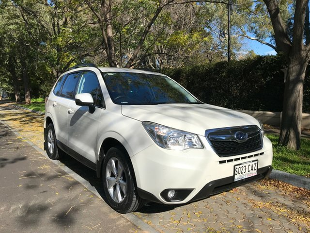 Used Subaru Forester S4 MY15 2.5i-L CVT AWD, 2015 Subaru Forester S4 MY15 2.5i-L CVT AWD White 6 Speed Constant Variable Wagon