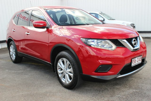 Used Nissan X-Trail T32 TS 4WD, 2014 Nissan X-Trail T32 TS 4WD Red 6 Speed Manual Wagon
