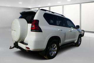 2017 Toyota Landcruiser Prado GDJ150R MY17 GXL (4x4) Glacier White 6 Speed Automatic Wagon.