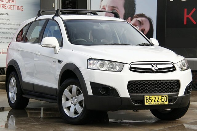 Used Holden Captiva CG MY12 7 SX (FWD), 2012 Holden Captiva CG MY12 7 SX (FWD) White 6 Speed Automatic Wagon