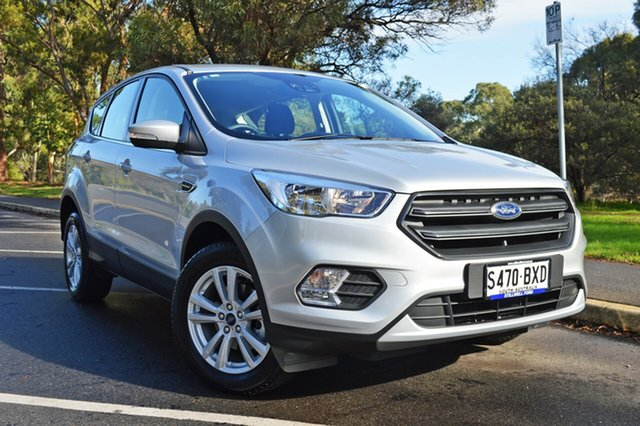 Used Ford Escape ZG 2018.75MY Ambiente 2WD, 2018 Ford Escape ZG 2018.75MY Ambiente 2WD Moondust Silver 6 Speed Sports Automatic Wagon