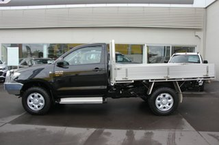 2010 Toyota Hilux KUN26R MY10 SR Black 5 Speed Manual Cab Chassis