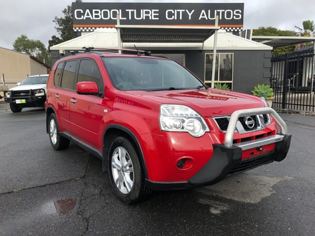 Used Nissan X-Trail T31 Series IV ST, 2011 Nissan X-Trail T31 Series IV ST Red 1 Speed Constant Variable Wagon