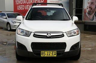 2012 Holden Captiva CG MY12 7 SX (FWD) White 6 Speed Automatic Wagon