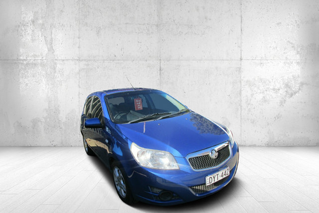 Used Holden Barina TK MY10 , 2010 Holden Barina TK MY10 Blue 4 Speed Automatic Hatchback