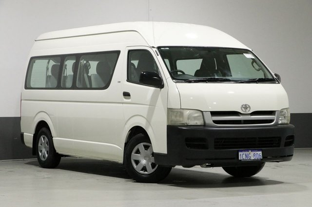 Used Toyota HiAce TRH223R MY07 Commuter, 2007 Toyota HiAce TRH223R MY07 Commuter White 4 Speed Automatic Bus