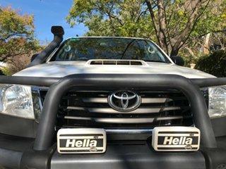 2015 Toyota Hilux KUN16R MY14 SR Xtra Cab 4x2 White 5 Speed Manual Utility.