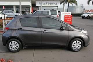 2014 Toyota Yaris NCP130R YR Graphite 4 Speed Automatic Hatchback.