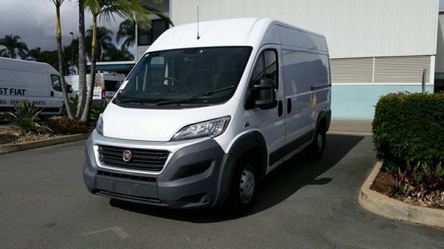Used Fiat Ducato Series 4 Mid Roof MWB Comfort-matic, 2015 Fiat Ducato Series 4 Mid Roof MWB Comfort-matic White 6 Speed Sports Automatic Single Clutch