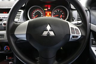 2008 Mitsubishi Lancer CJ ES Black 6 Speed CVT Auto Sequential Sedan