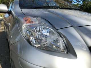2010 Toyota Yaris NCP91R MY10 YRS Silver 4 Speed Automatic Hatchback.