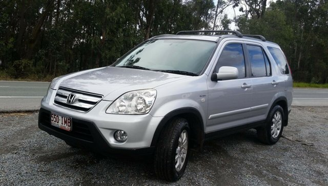 Used Honda CR-V RD MY2005 Sport 4WD, 2005 Honda CR-V RD MY2005 Sport 4WD Silver 5 Speed Automatic Wagon