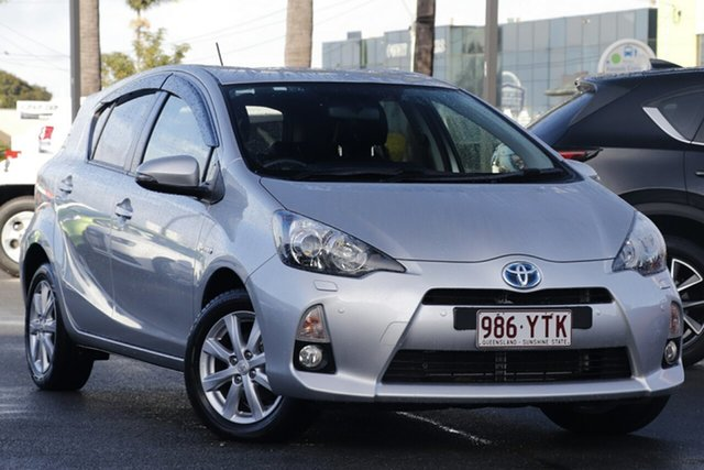 Used Toyota Prius c NHP10R i-Tech E-CVT, 2012 Toyota Prius c NHP10R i-Tech E-CVT Silver 1 Speed Constant Variable Hatchback Hybrid