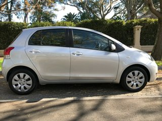 2010 Toyota Yaris NCP91R MY10 YRS Silver 4 Speed Automatic Hatchback