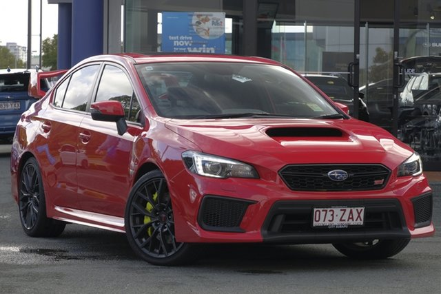 Demo Subaru WRX V1 MY18 STI AWD Premium, 2018 Subaru WRX V1 MY18 STI AWD Premium Pure Red 6 Speed Manual Sedan