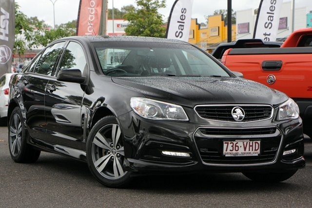 Used Holden Commodore VF MY14 SV6, 2014 Holden Commodore VF MY14 SV6 Black 6 Speed Sports Automatic Sedan