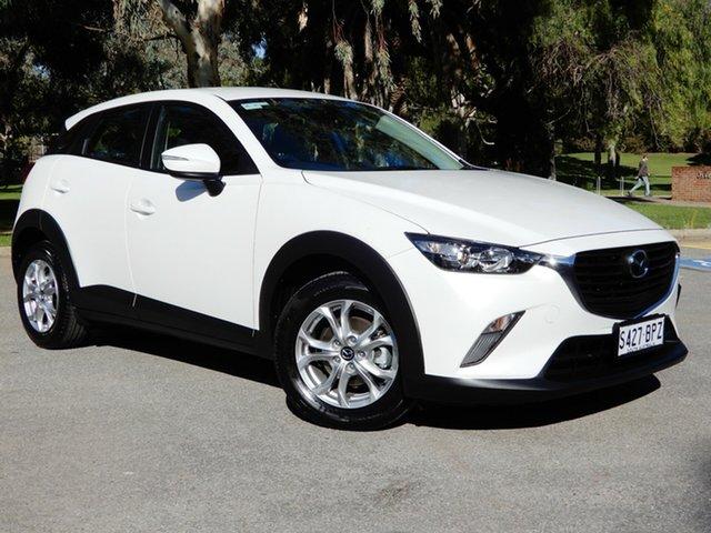 Used Mazda CX-3 DK2W7A Maxx SKYACTIV-Drive, 2017 Mazda CX-3 DK2W7A Maxx SKYACTIV-Drive White 6 Speed Sports Automatic Wagon