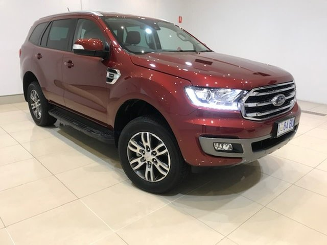 Used Ford Everest UA II 2019.00MY Trend 4WD, 2018 Ford Everest UA II 2019.00MY Trend 4WD Maroon 10 Speed Sports Automatic Wagon