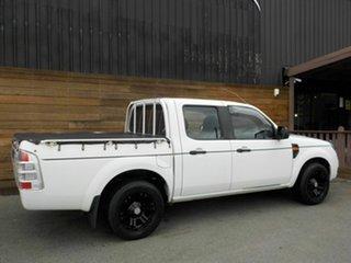 2009 Ford Ranger PK XL Crew Cab 4x2 White 5 Speed Automatic Utility.
