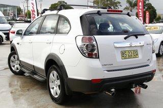 2012 Holden Captiva CG MY12 7 SX (FWD) White 6 Speed Automatic Wagon.