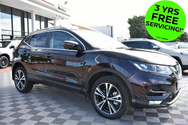 New Nissan Qashqai J11 Series 2 ST-L X-tronic, 2019 Nissan Qashqai J11 Series 2 ST-L X-tronic Nightshade 1 Speed Constant Variable Wagon