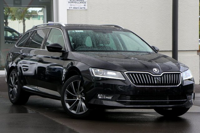 Used Skoda Superb NP MY17 162TSI Sedan DSG, 2017 Skoda Superb NP MY17 162TSI Sedan DSG Black 6 Speed Sports Automatic Dual Clutch Liftback