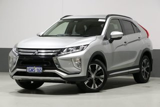2018 Mitsubishi Eclipse Cross YA LS (2WD) Sterling Silver Continuous Variable Wagon.