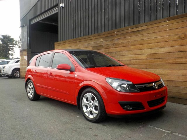 Used Holden Astra AH MY07 CDTi, 2007 Holden Astra AH MY07 CDTi Red 6 Speed Manual Hatchback