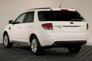 2016 Ford Territory SZ MkII TX Seq Sport Shift AWD Winter White 6 Speed Sports Automatic Wagon