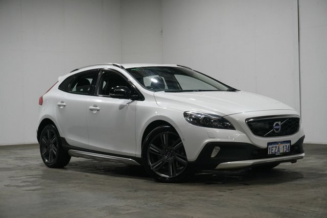 Used Volvo V40 Cross Country M Series MY14 T5 Adap Geartronic AWD Luxury, 2013 Volvo V40 Cross Country M Series MY14 T5 Adap Geartronic AWD Luxury White 6 Speed