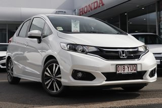2019 Honda Jazz GF MY19 VTi-S White Orchid 1 Speed Constant Variable Hatchback.