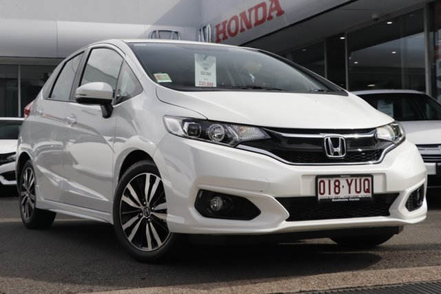 Demo Honda Jazz GF MY19 VTi-S, 2019 Honda Jazz GF MY19 VTi-S White Orchid 1 Speed Constant Variable Hatchback